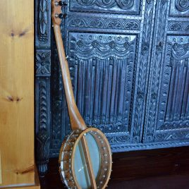 Cedar Mountain A model with mahogany neck and rosewood rim