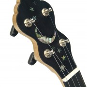 Cedar Mountain L2 with abalone moon & stars inlay