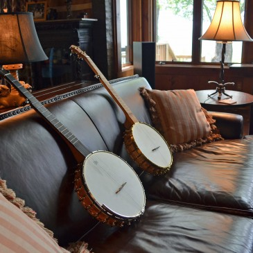 Welcome to the new website of Cedar Mountain Banjos!