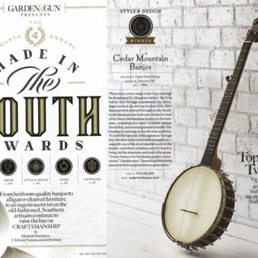 Cedar Mountain Banjos News: 2011 – August 2015