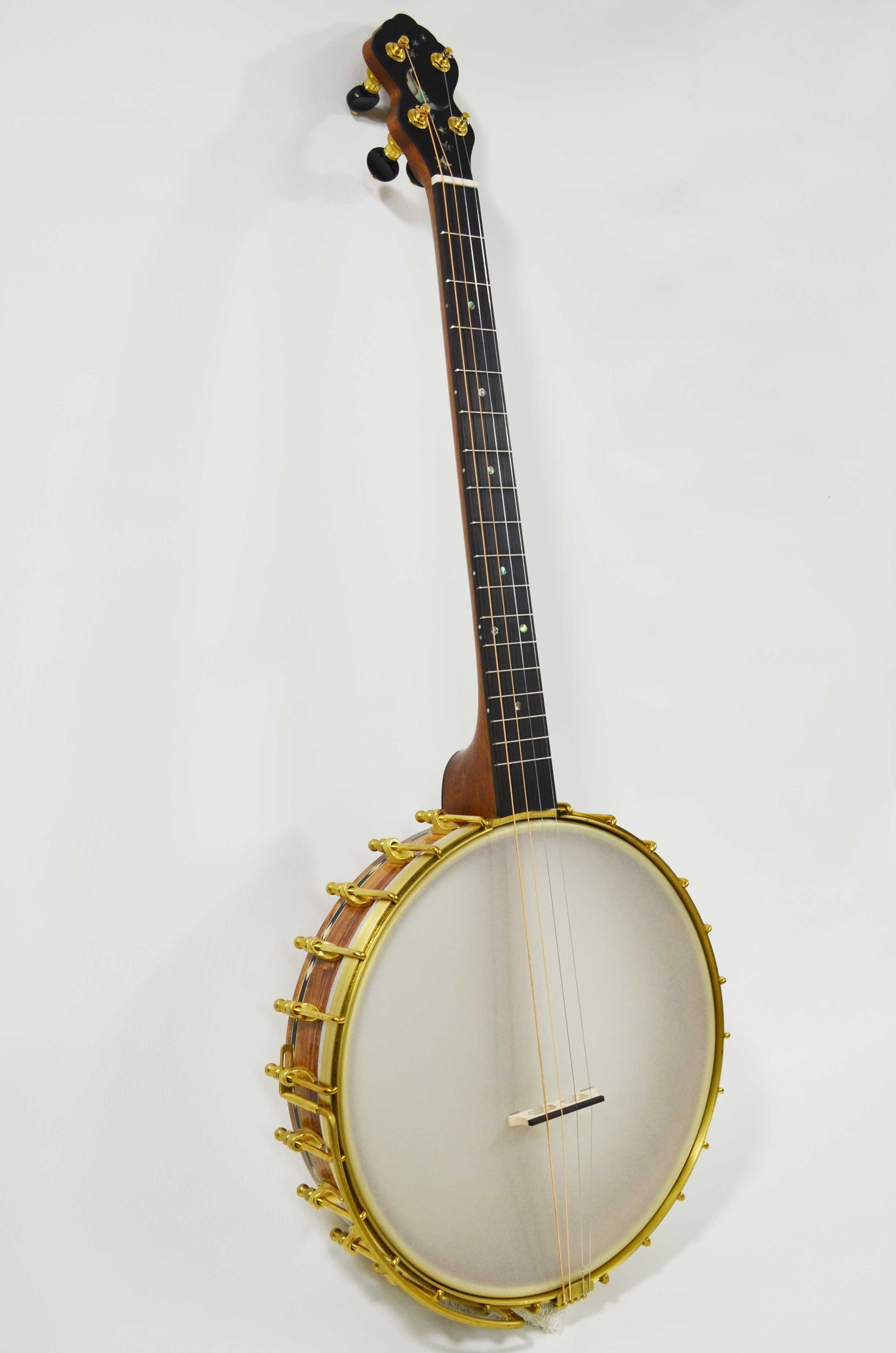 L Model with Irish tenor neck option and brass package