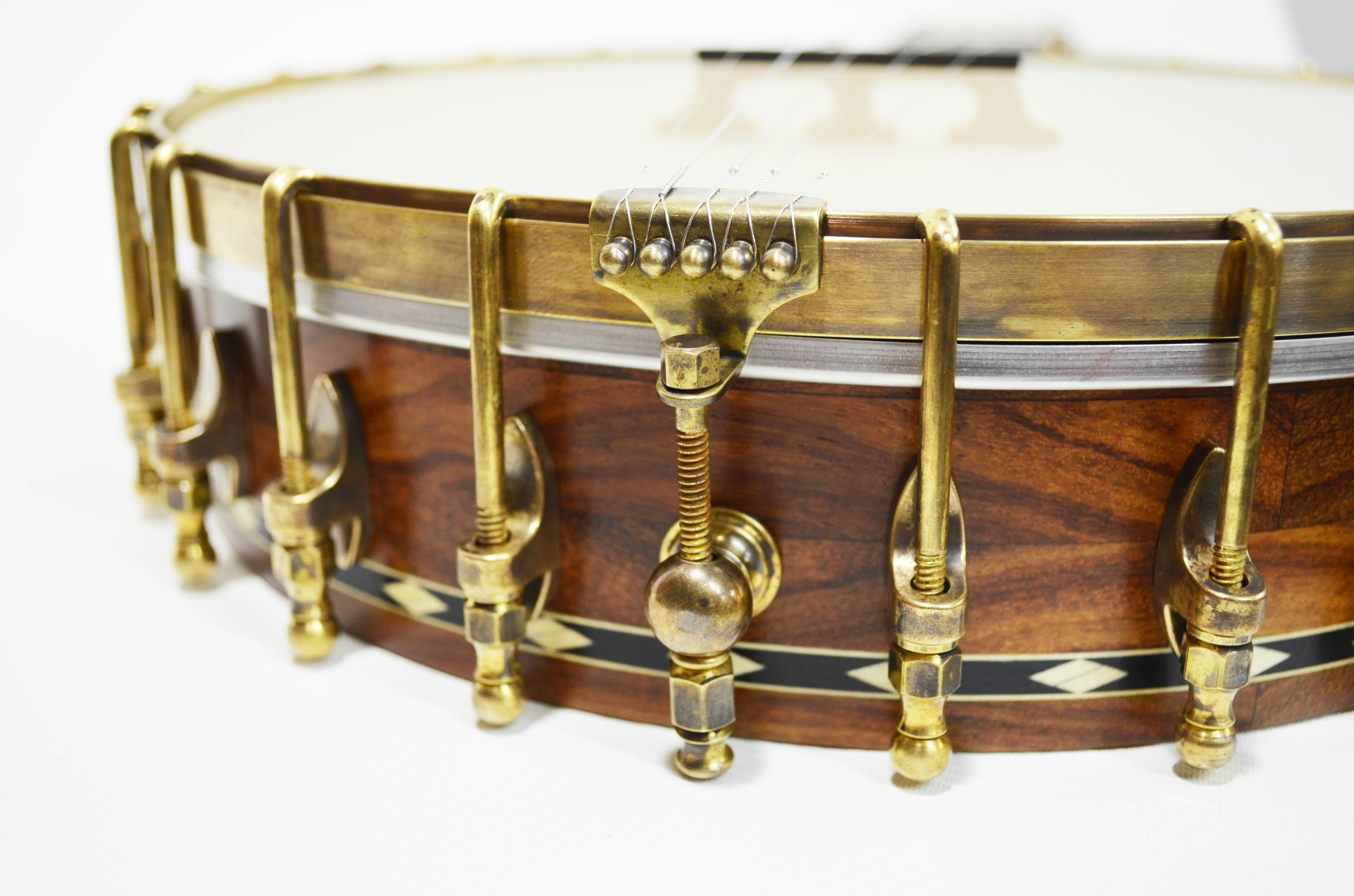 Aged brass hardware