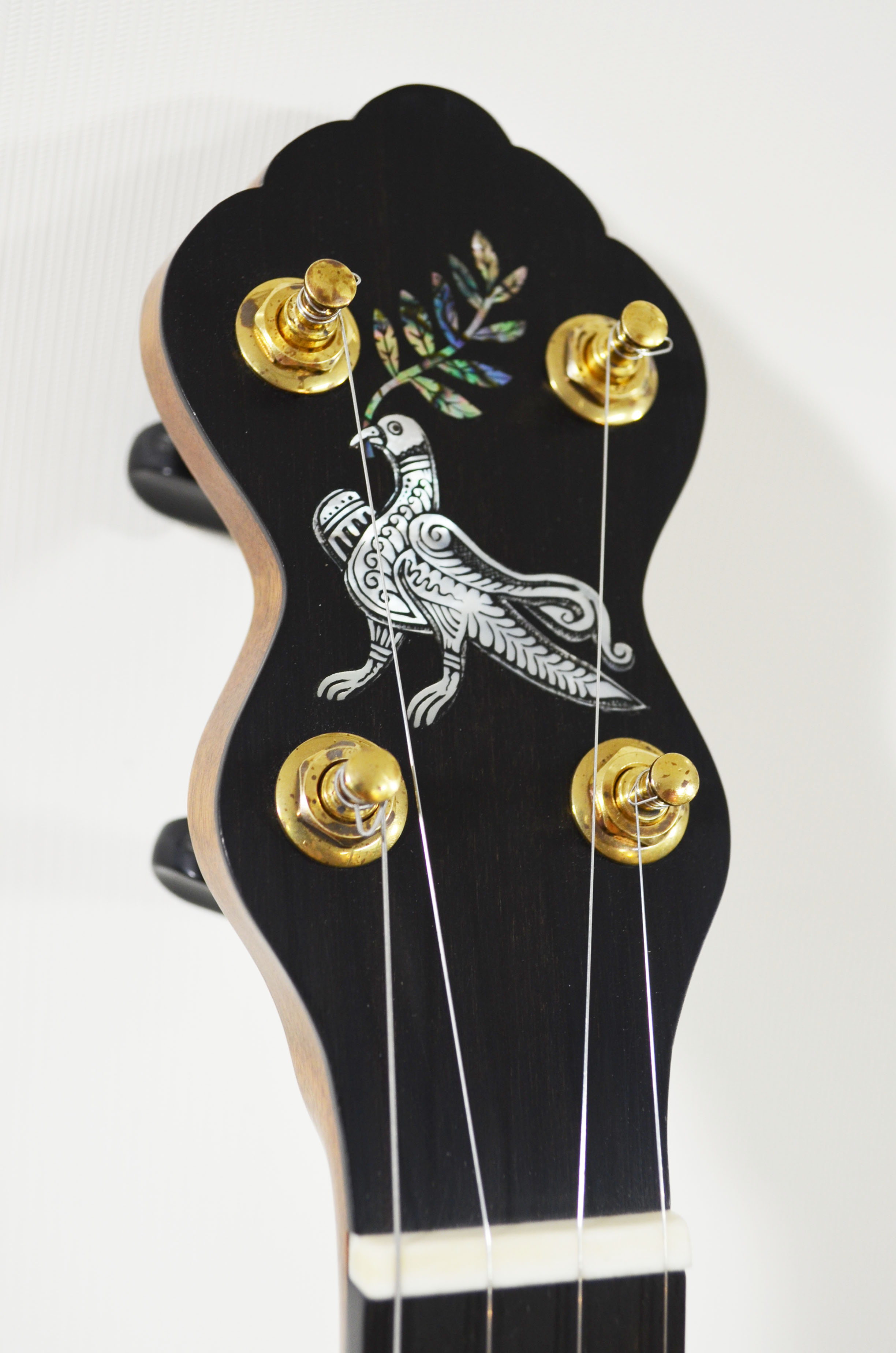 Russian folk art-inspired dove