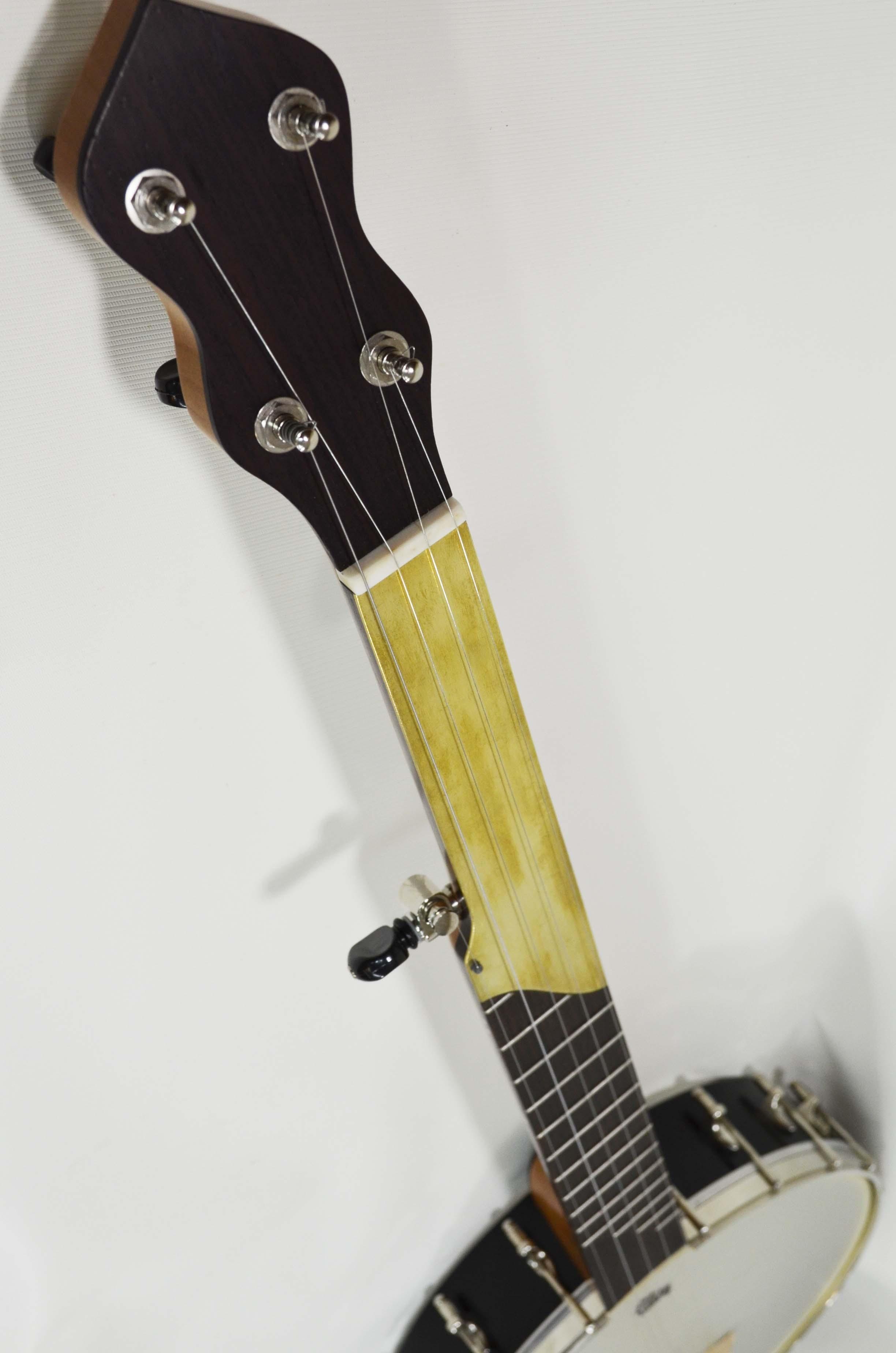 Half-fretless fingerboard