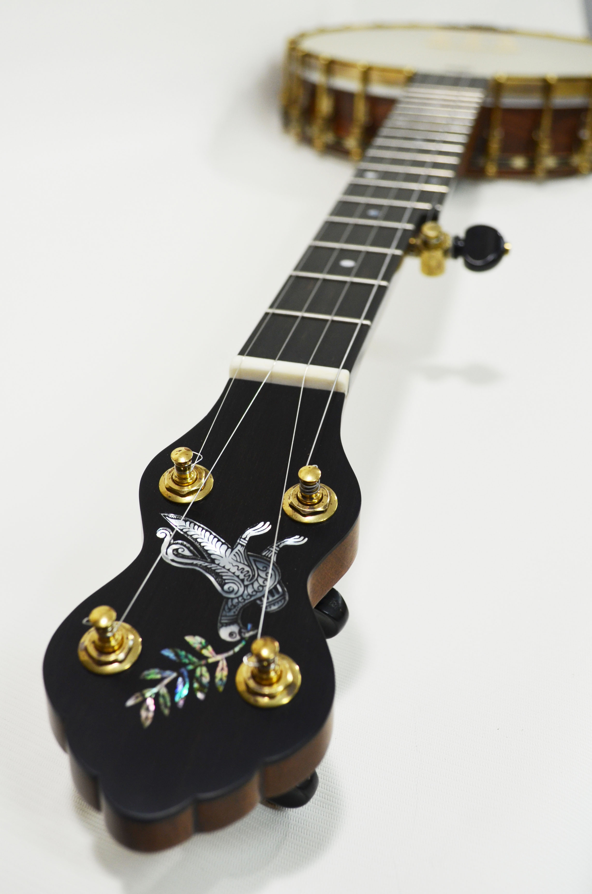Custom L model with dove engraving