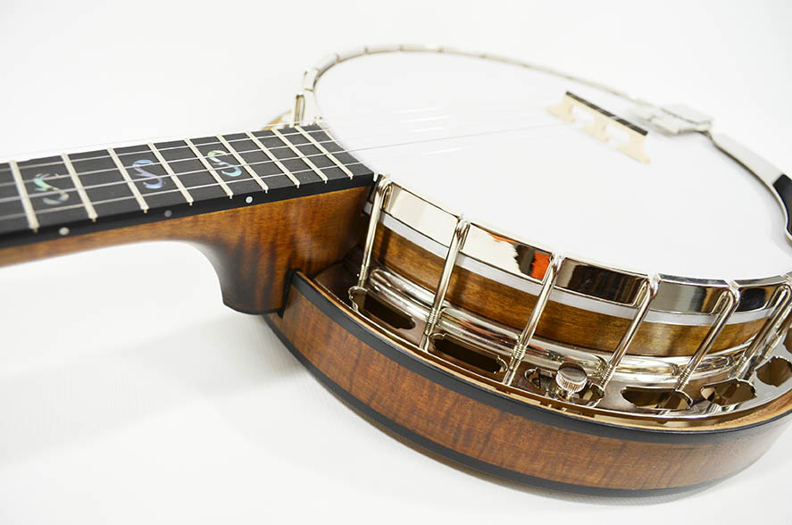 Bramble rim with resonator and flange