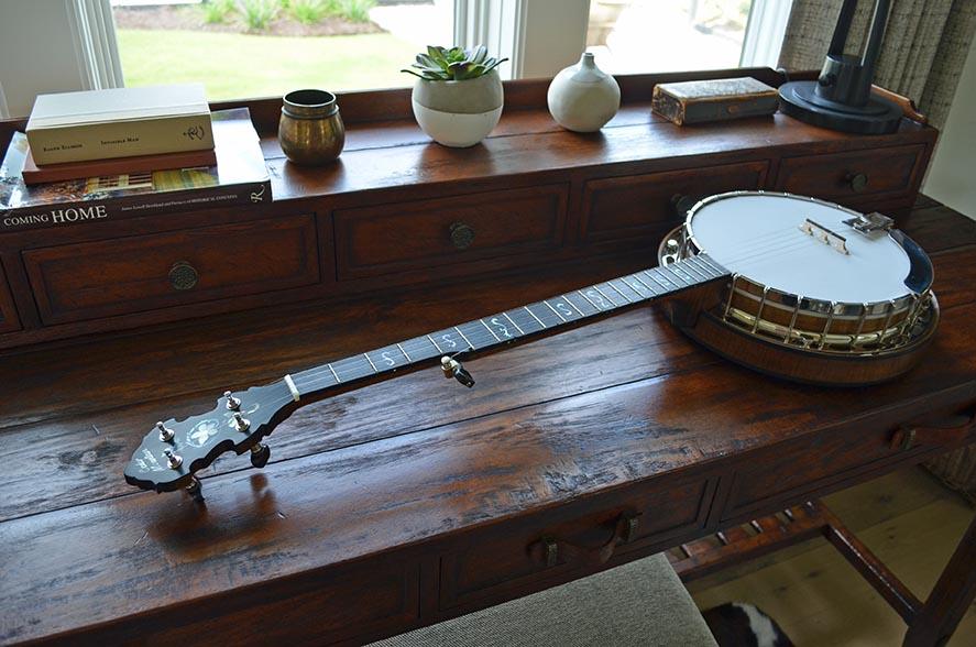 Bramble bluegrass banjo