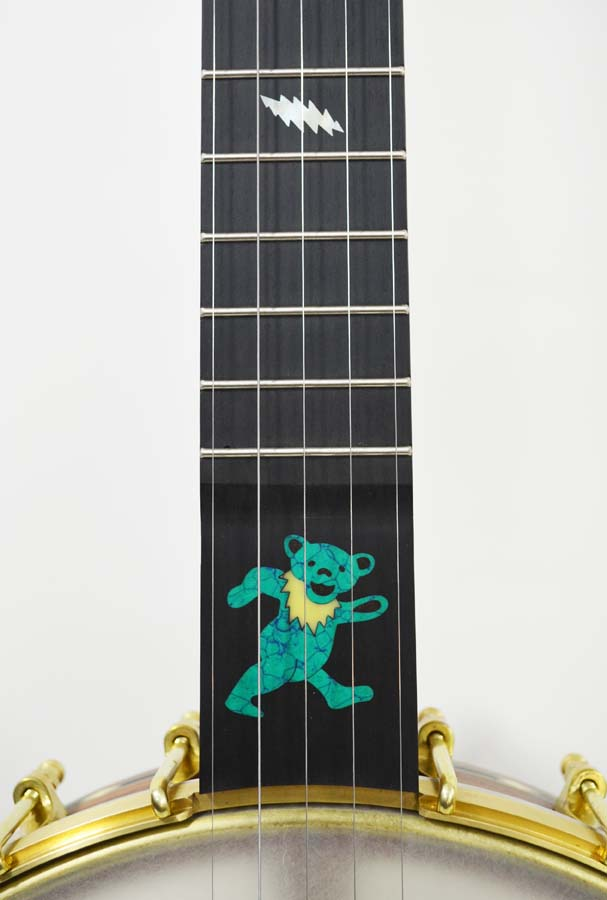 Custom Grateful Dead themed banjo