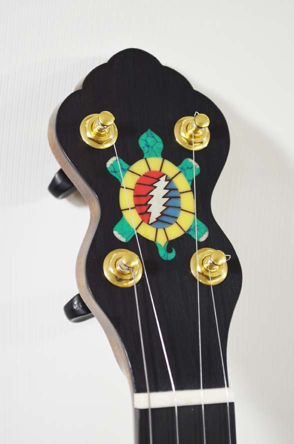 Custom Grateful Dead themed banjo